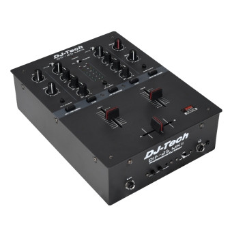 DJ Tech DIF-2S MKII  2-channel DJ Scratch Mixer With Integrated Mini InnoFADER Pro.