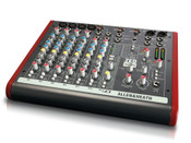 Allen & Heath ZED-10 10-Channel Mixer with USB Front View
