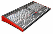 Allen & Heath ZED-436 Mixer 4-Buss 36-Channel Live/Recording Mixer Front Angled View
