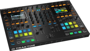 Native Instruments Traktor Kontrol S8 DJ Controller Angle