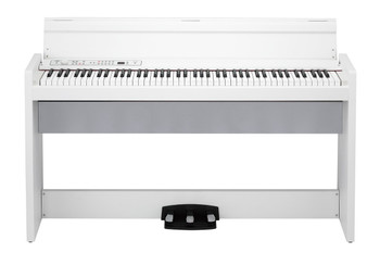 Korg LP380WH 88 Key Lifestyle Piano - White