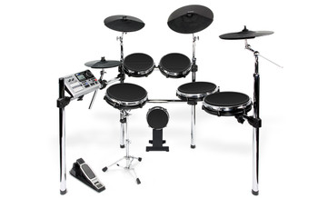 Alesis DM10 X Mesh Kit Six-Piece Electronic Drum Kit with Mesh Drum Heads