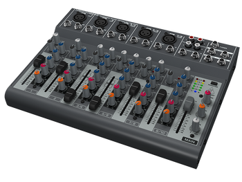 Behringer 1002B 10-Input 2-Bus Mixer with Optional Battery