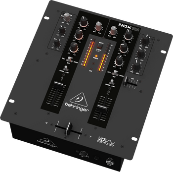 Behringer NOX101 Premium 2 Channel DJ Mixer With VCA Control And Ultraglide Crossfader