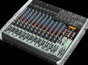 Behringer QX2222USB Premium 22-Input 2/2-Bus Mixer