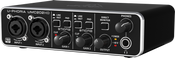 Behringer UMC202HD Audiophile 2x2, 24-Bit/192 kHz Audio/MIDI Interface