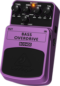 Behringer BOD400 Tube-Sound Overdrive Effects Pedal