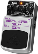 Behringer DR400 Digital Stereo Reverb/Delay Effects Pedal