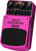 Behringer HD300 Heavy Metal Distortion Effects Pedal