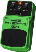 Behringer TO800 Vintage Tube-Sound Overdrive Effect Pedal