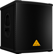 "Behringer B1200DPRO High-Performance Active 500-Watt 12"" PA Subwoofer"