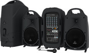 Behringer PPA2000BT Ultra-Compact 2000-Watt 8-Channel Portable PA System