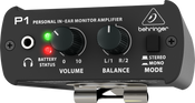 Behringer P1/B Personal In-Ear Monitor Amplifier