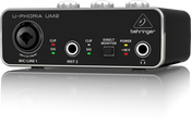 Behringer UM2 2X2 USB 2 Audio/Midi Interface