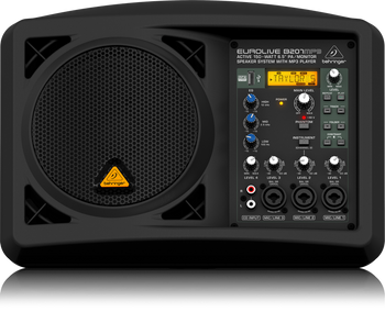 Behringer B207MP3 Active 150-Watt 6.5-inch PA/Monitor Speaker System