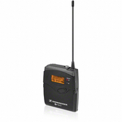 Sennheiser EK100G3-A Portable Diversity Receiver with CL1 1/8-Inch and CL100 XLR Cables
