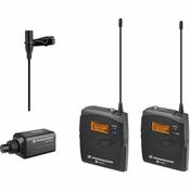 Sennheiser EW100ENGG3-B Omni-Directional Clip-On Microphone Kit System
