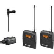Sennheiser EW100ENGG3-G Omni-Directional Clip-On Microphone Kit System