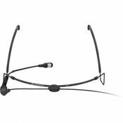 Sennheiser HSP4 Head-Worn Cardioid Condenser Microphone with Lemo Connector - Black