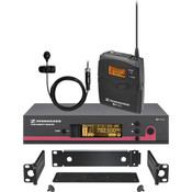 Sennheiser EW122G3CC-B Wireless Presentation System with Rack Mount Kit