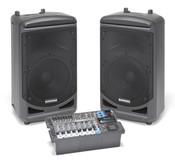 Samson Expedition XP1000 10-Channel Portable PA System