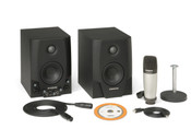 Samson Studio GT Pro Active Studio Monitors with C01 Microphone
