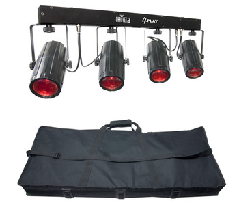 Chauvet DJ 4PLAY Six-Channel DMX-512 LED Beam Effect System
