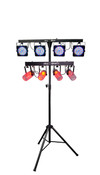 Chauvet DJ 4PLAY CL LED DMX Moonflower Light Beam Bar Effect Systems