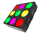 Chauvet DJ Core3x3 COB LED Pixel Mapping and Wash Panel