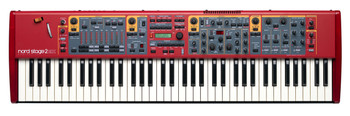 Nord Stage 2 EX Compact 73-key Semi-Weighted Action keybed