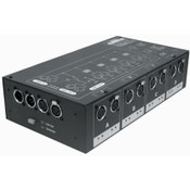 Elation DMX-BRANCH/4 Pro Lighting Dmx Splitter 3 and 5 Pin Outputs
