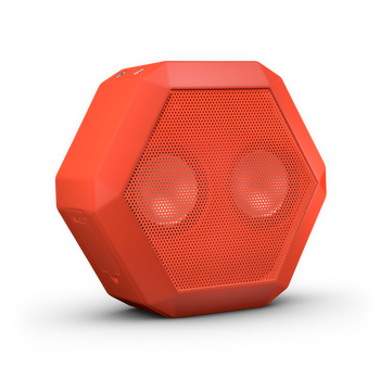 Boombotix REX Bluetooth Speaker- Coral Red