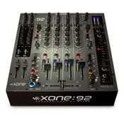 Allen & Heath XONE:92-FADER Professional 6 Channel Club/DJ Mixer with Faders