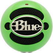 Blue Microphones Snowball USB Microphone - Neon Green