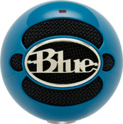 Blue Microphones Snowball USB Microphone - Blue