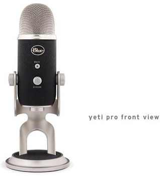 Blue Microphones Yeti Pro USB Condenser Multipattern Microphone