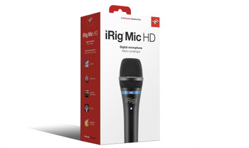 IK Multimedia iRig Mic HD High-Definition Handheld Microphone for iPhone, iPad and Mac