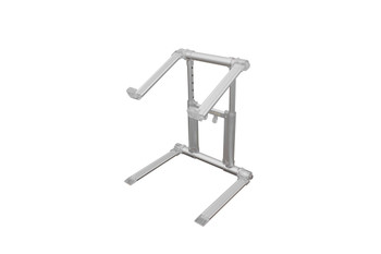 Folding Tabletop Laptop/Tablet Stand in Macbook Pro Silver