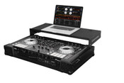 Odyssey FZGSPIDDJSX2BL DJ Controller Glide Style Case with 19-inch 1U Bottom Rack Space for Pioneer DDJ-SX/DDJ-SX2 - Black