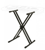 Ultimate Support IQ-2000 X-Style Double-braced Keyboard Stand with Memory Lock