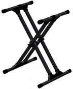 Ultimate Support IQ-3000 X-Style Double-braced Keyboard Stand w/Memory Lock