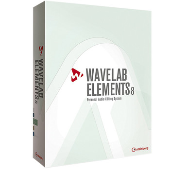 Steinberg 502020164 Wavelab Elements 8 Audio Editing Software