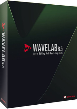 Steinberg 45370 WaveLab 8.5 Audio Mastering and Editing Software