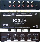 DA134 4 Channel Rca Distribution Amp