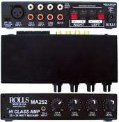 MA252 Stereo 20 Watt Mixer Amp 3-RCA's & 1-XLR