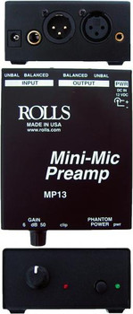 MP13 Mini Single Ch Mic Preamp