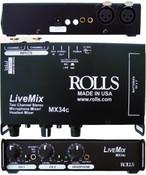 MX34c Live Mix 2 Ch AV Mixer