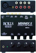 Rolls MX51s Mini Mix Ii 2 1/4-inch & 3 RCA Mixer