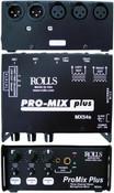 MX54s Pro Mix Plus 3 Ch Mic Mixer