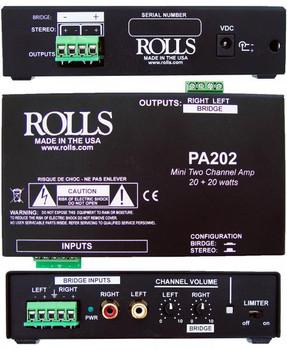 PA202 20 + 20 Watt Mini Amp